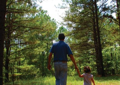 Leading the next generation through a conserved forest