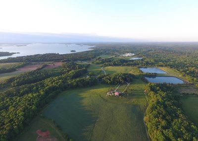 Cedar Falls Farm overlooking Lake Hartwell