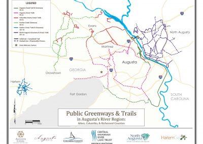Regional Greenway Map