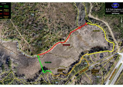 Lombard Pond Trail - Overall Phase Map 2016 - small file size